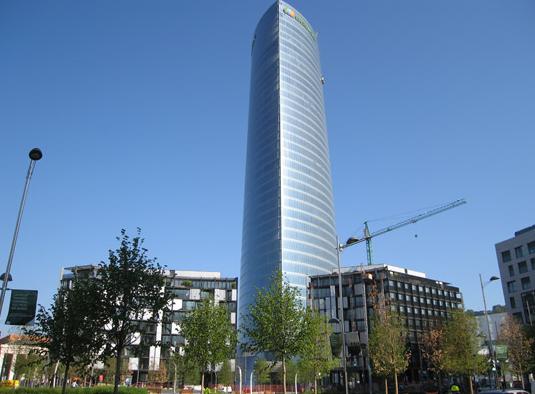 Edificio oficinaselectricidad guria for Oficinas de iberdrola en alicante